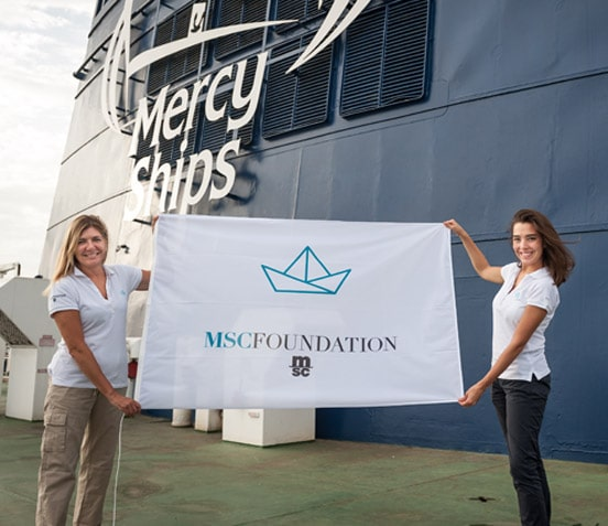 MSC Foundation Flagge