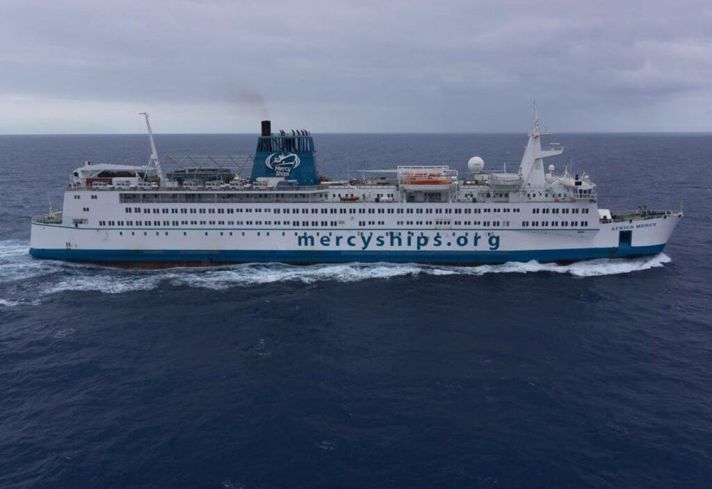 Hospitalschiff Africa Mercy