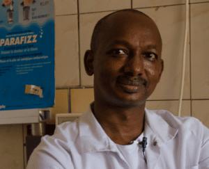 Portait von MKG-Chirurg Professor Diallo